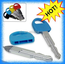 2015 fashion key shape ball pen/car key pen/promotion ball pen