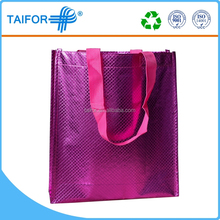 big beach bopp laminated pp woven shopping bag