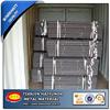 light duty/medium duty / heavy duty metal T- Post fence Steel with anchor plate