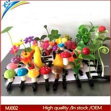 Asia Creazy hot selling popular children boutique hair accessories Magical Artificial flower fruit hair clip design