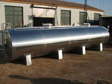 Horizontal and vertical kerosene tank made by carbon steel and stainless steel for cement transport