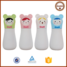 Wholesale Cartoon Kids Personalized Clear Double Wall Plastic Thermos Mug