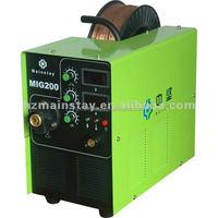 IGBT mig 200 welding have welding wire feeding motor supply