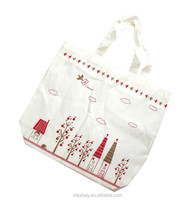 New Arrival Fashion Shopping Polyester Tote Bag