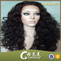 brazilian human hair wig lace front wigs lace ear to ear/mongolian kinky
