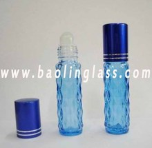 Customized Color 10ml Glass Perfume Bottle with Roller Ball