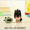 Fantastic batman usb doll/custom designer logo for pvc usb/hot batman usb toy