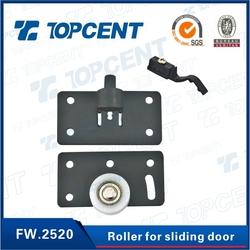 2015 Topcent hot sale Wooden Door Track and Roller