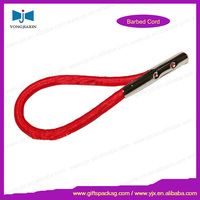wholesale 3mm elastic cord with metal end / polyester round cord
