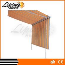 China Alibaba pergola retractable, balcony canopy