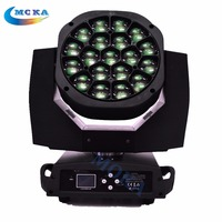 Factory Price 19*15W Bee Eye LED Moving Head Light with Zoom dj Stage Lighting