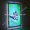 crystal advertising A2 size led panel light frame ce rohs