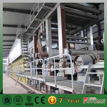 real paper making machine manufacturer 2100mm cylinder mould type 15-20tons high quality A4 paper making machine