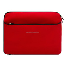 factory price 15.6 inch soft neoprene laptop bag carrying case for 15.6 laptop