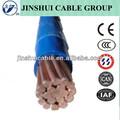 alta qualidade 600v cu fio isolado pvc da bainha de nylon trançado cabo thhn