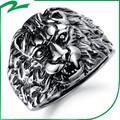 China hizo elegante de la piedra preciosa venta al por mayor hombres modelo de anillo