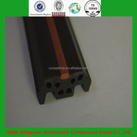 plastic door factory direct sale extruded TPE good sealing hard rubber strip