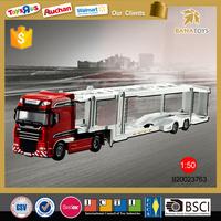 Hot selling miniature truck model 2015 new 1 50 toy truck transportation for children