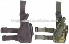 Pistola de alta calidad/pistolera militar cintura blackhawk 17 glock para la pierna táctico policial de la pistola