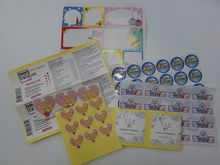 epoxy resin sticker for kids ,A-442 custom window clings static vinyl cling decals & stickers