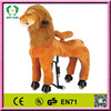 Popular wooden rocking horse toy,mechanical horse toys,ride on pony toys