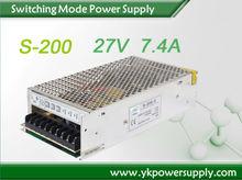 High efficiency power supply for LED light 5v 12v -12v dc output 60w triple power