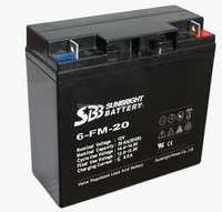 12V 20AH deep cycle lead acid automotive gel battery