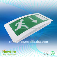 RoHS220v SMD5050 battery operated LED rechargeable emergency ceiling lamp light exit sign CE