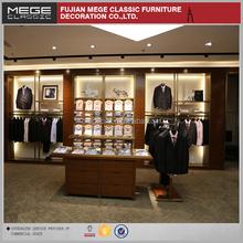 Unique Design Business Men Retail Decoration Clothes Stores