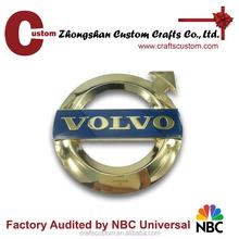 Custom 3m metal lapel pin badges/car badge