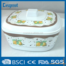 large melamine mixing bowl with lid
