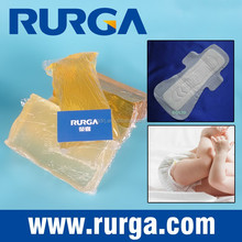 PSA hot melt adhesive for baby diaper construction adhesive