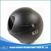 gym med ball with handle