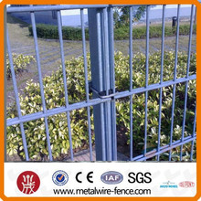 2D Welded PVC Coated Double Wire Fence (high strenght and high security)