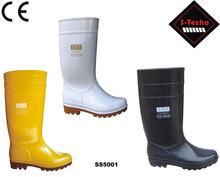de pvc de seguridad botas de seguridad minera s5 botas