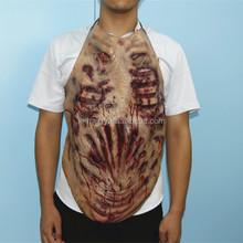 X-MERRY Horse Man The Walking Dead Torso Walker Zombie Adult Latex Halloween Costume Chest Props