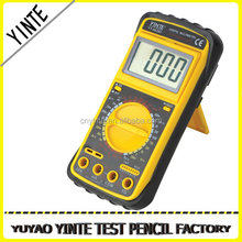 China factory Professional digital multimeter /universal meter with test probe and 3 1/2 LCD