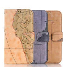 2015 hot selling mobile phone leather case for Samsung S6