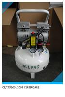 piston 35 liter vertical tank oil free compresor de aire for sale