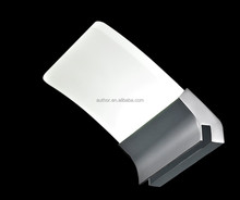 Avant-garde Style IP44 LED Bathroom Mirror Light With Curving Frosted Acrylic Lampshade 2909