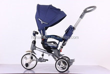 2015 New type three wheels baby bicycle, Children baby tricycle, with the remove seat