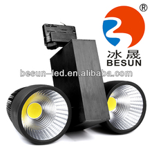 2014 European standard SAA TUV UL certificated driver 70w led track spotlight dimmable