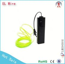 electroluminescent wire,2015 watson lighting best selling 2.3mm el wire