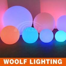 glowing LED ball/Multi-color Luminous floating waterproof led light ball