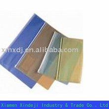 PVC stationery bag(zipper pencil bag,transparent file bag)