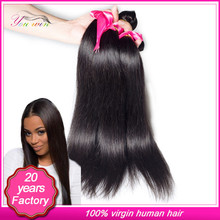 High Quality Wholesale Natural Colour 100% Unprocessed Virgin Peruvian Hair