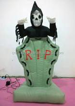 Wholesale inflatable witch /Scary inflatable decoration for halloween