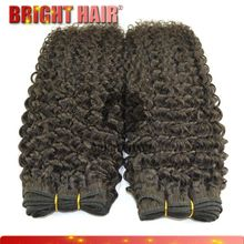 Unprocessed wholesael virgin Virgin Brazilian jerry curl Hair weaving