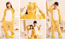 low price adults winter costumized cartoon character animal onesie wholesale