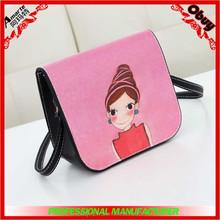 2015 fashion high class student school bag manufacture